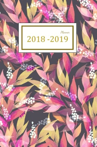 2018 - 2019 Planner: Two Year Planner| 24 Month ( Daily Weekly And Monthly Calendar ) For Agenda Schedule Organizer   Logbook and Journal Notebook (24 ... (2018 - 2019 Academic Planner) (Volume 10)