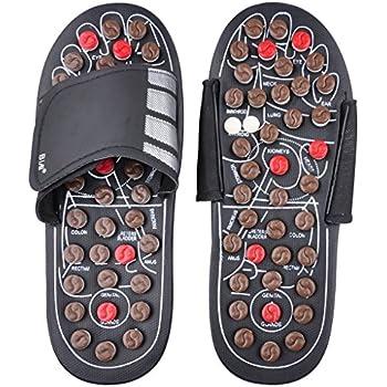 8c1703b078d Rotating Acupressure Reflexology Foot Massagers Slippers Healthy Flip Flops  Sandals Shoes Improving Blood Circulation Clog Mules