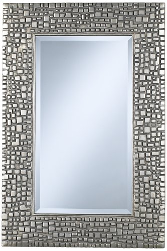 Textured Relief High Silver Mirror product image