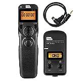 Pixel Timer Shutter Release TW283-N3 Wireless Remote Control for Canon 5D Mark III/ 5D Mark IV/ 5D 6D /7D Mark II/ 7D 50D 40D 30D D60 D30 D2000