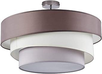 Deckenleuchte chrom E27 Metall Modern