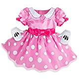 DISNEY STORE MINNIE MOUSE BABY COSTUME PINK POLKA DOT - 2016 (6-12 mo)