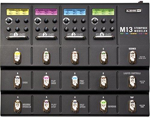 Line 6 M13 Stompbox Modeler (Line 6 Dl4 Delay Modeler Stomp Boxes)