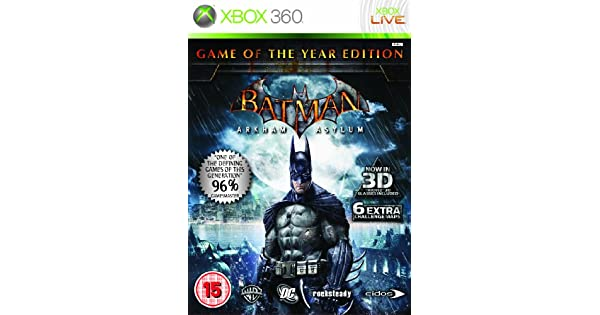 Import Anglais]Batman Arkham Asylum Game Of The Year Edition (GOTY) Game (Classics) XBOX 360: Amazon.es: Videojuegos
