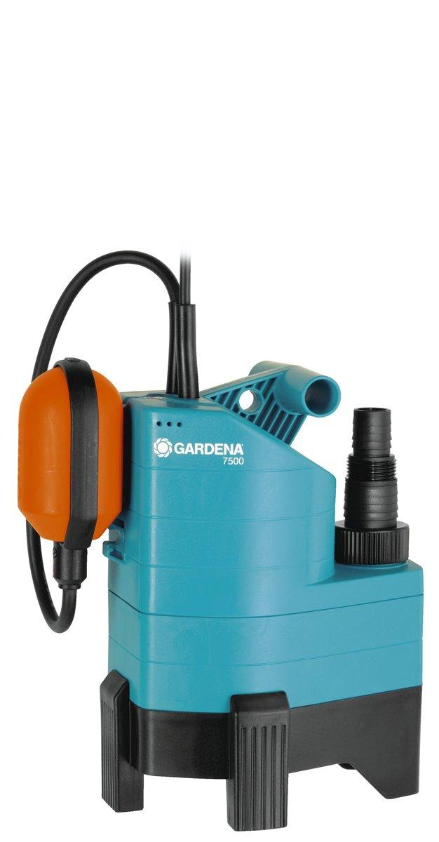 Gardena 01665-20 Bomba Sumergible de Aguas sucias, 300 W, 230 V, Multicolor, hasta 20000 l/h