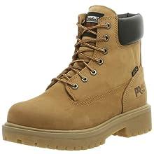 Timberland PRO Men's Direct Attach Six-Inch Soft-Toe Boot, Wheat Nubuck,12 W