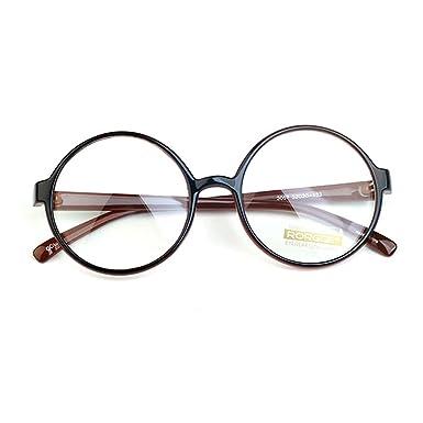 Générique 1920s Vintage Oliver rétro lunettes rondes 3057 Brown cadres Classic Eyewear AFXKzbAa8O