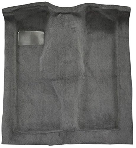 1984 to 1996 Jeep Cherokee Carpet Custom Molded Replacement Kit, Passenger Area only (801-Black Plush Cut Pile)