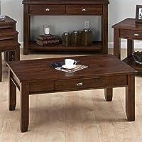 Jofran Coffee Table in Urban Lodge Brown