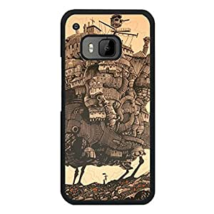 Howl'S Moving Castle Cover Case Modish Design for Htc One M9 Miyazaki Amine Movies