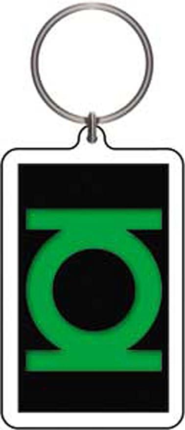 Linterna verde logotipo - DC Comics - Lucite llavero kae-56 ...
