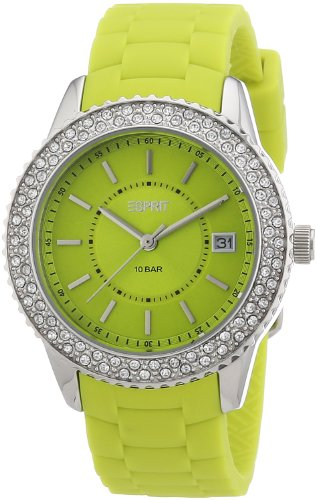 Esprit Women's Quartz Watch marin glints ES106212003 with Plastic Strap