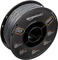 AmazonBasics PLA 3D Printer Filament, 1.75mm, Silver, 1 kg Spool from AmazonBasics