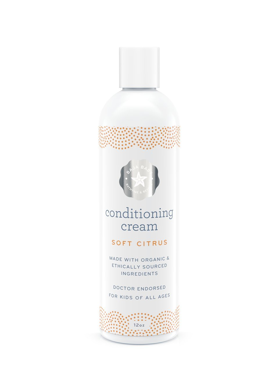 Soft Citrus Hair Conditioner For Baby - EWG VERIFIED - 12 Fluid Ounces  Family Size - Without Sulphates,