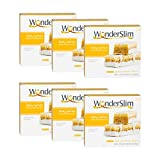 WonderSlim Gourmet High Protein Bar/Diet Bars with 10g Protein - Trans Fat Free, Cholesterol Free, Zesty Lemon - 6 Box Value-Pack (Save 10%)