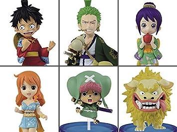 "One Piece WCF world collectable figure /""WA NO KUNI 1/"" Complete set Banpresto"