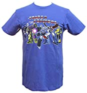 Transformers Men's More Than Meets The Eye! Licensed Retro Character Tee