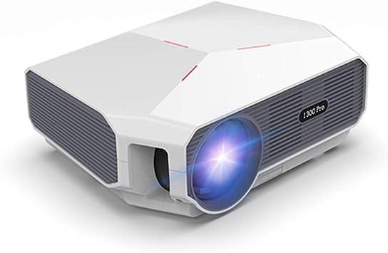 Amazon.com: ZXGHS Proyector de vídeo LED Full HD, 12.000 ...