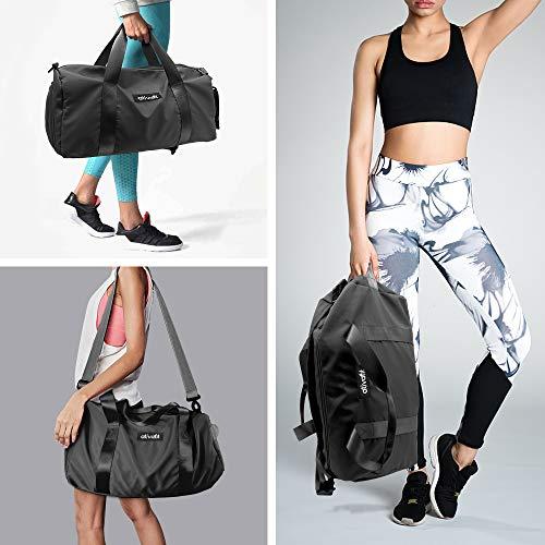 sac Voyage Chaussures De Nuit Avec Holiday Sac Pour Sacs Duffel À Sport Ativafit Black Noir Sports Gym Femmes Barrel O7qw114