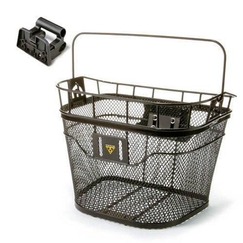 Topeak Fahrradkorb Hinten Basket Front, schwarz, TB2001