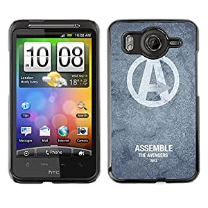 MOBMART Carcasa Funda Case Cover Armor Shell PARA HTC G10 - Assembling The Avengers