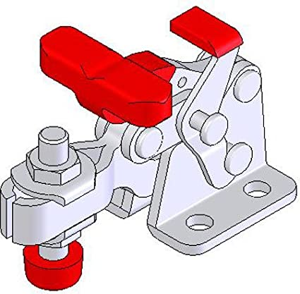 Horizontal De-Sta-Co Toggle-Lock Plus Action Clamp 1 Each w//350 lbs holding cap.