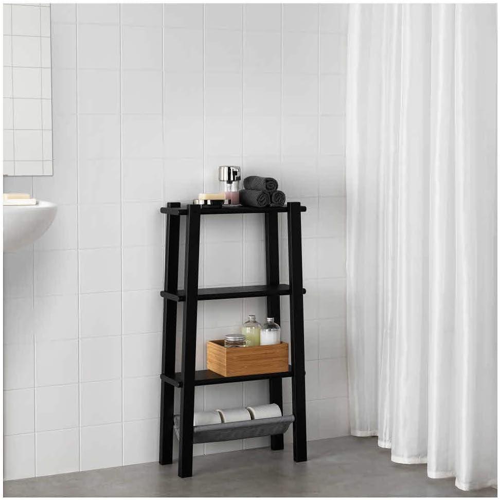 IKEA ASIA VILTO - Estantería, Color Negro: Amazon.es: Hogar