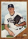 2011 Topps Heritage Baseball #179 Mat Latos San Diego Padres