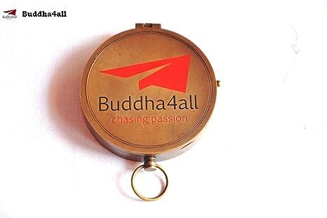 Amazon Com Buddha4all Antique Heavy Brass Compass 3