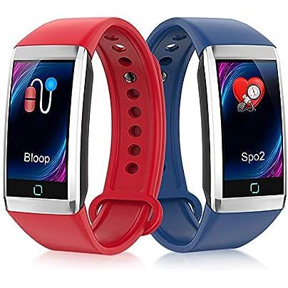 SJUTALR 1pcs Sport Smart Watch Bracelet Blood Pressure Oxygen Fitness Smart Watch Heart Rate Pedometer Tracker Band Wristband Estimated Price £43.98 -