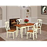 5 Pc Table and chair set for 4-Table and 4 Dining Chairs