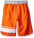 NFL Cleveland Browns Youth 8-20 Swim Trunk, Small (8), Orange