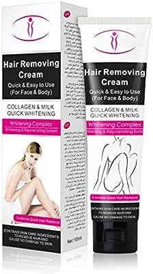 Yiitay - Crema depilatoria para depilación de pelo (piel lisa para todo el cuerpo): Amazon.es: Belleza