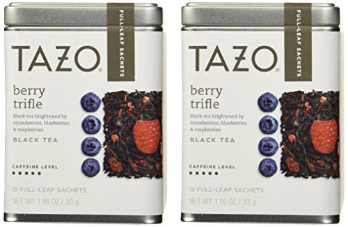 Tazo Berry Trifle Full Leaf Tea Starbucks Black tea (Pack of 2) - Full Leaf Tazo Tea