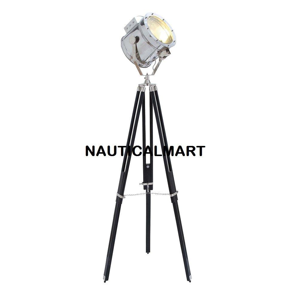 NauticalMart Movie Studios Decorative Floor Prop Lamp with Tripod