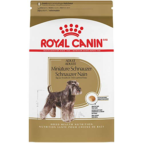 (Royal Canin Adult Miniature Schnauzer Dry Dog Food (10 lb) )
