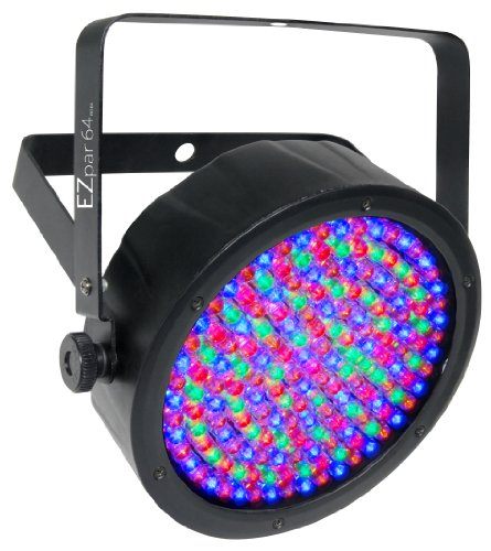 CHAUVET DJ EZpar 64 Battery-Operated RGBA LED Par-Style Wash Light by CHAUVET DJ