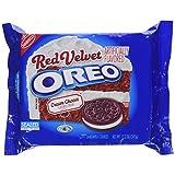 Oreo Red Velvet Sandwich Cookie, 12.2 Ounce 1 Package