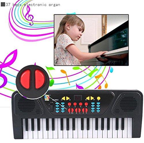 Mandy 37 Keys Digital Music Keyboard Key Board Electric Piano Gift For Kids (Pokemon Cards 220)
