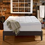 Sleep Innovations 4-Inch Dual Layer Mattress Topper.   10-year limited warranty.  Made in the USA. King Size