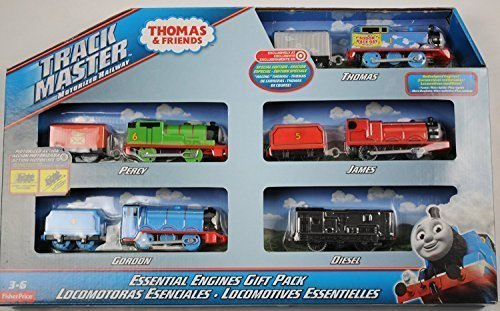 Percy Battery Powered Engine (Thomas and Friends Track Master Motorized Railway Essential Engines Gift Pack by Thomas & Friends)