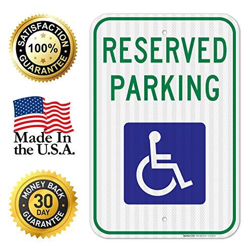 Discapacidad señal de prohibido aparcar - Federal 12