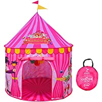 Play Tent for Kids - Vibrant Pink Toy Circus Play Tent in...