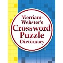 Merriam Websters Crossword Puzzle Dictionary