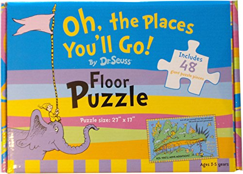 Dr. Seuss Oh, the Places You'll Go! 48-piece Floor -