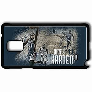 Personalized Samsung Note 4 Cell phone Case/Cover Skin 14945 thunder wp 16 sm Black