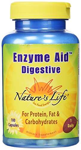 Nature's Life Enzyme Aid Digestive , 100 Capsules For Sale
