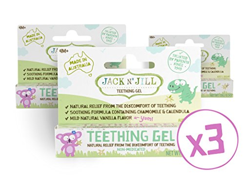 Jack N' Jill Natural Teething Gel 15g/0.53oz (3 - 15g Gel