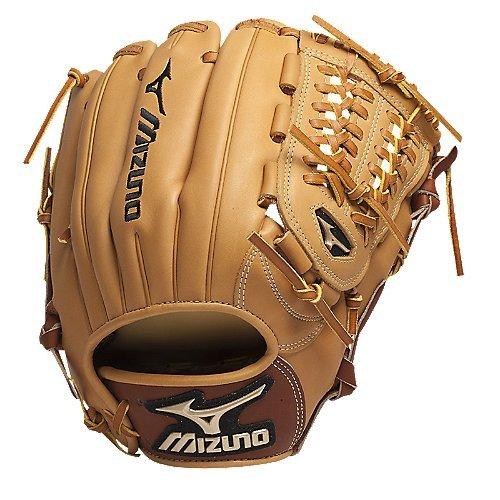 Mizuno GGE51 Global Elite Baseball Fielder's Mitt (Tan, 11.75-Inch, Right Handed Throw) - Pattern Baseball Fielder Glove