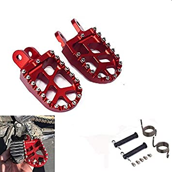 1 Pair Billet Cnc Machined Aluminum Motorcycle Footrests Footpegs Foot Pegs Red Archives Statelegals Staradvertiser Com